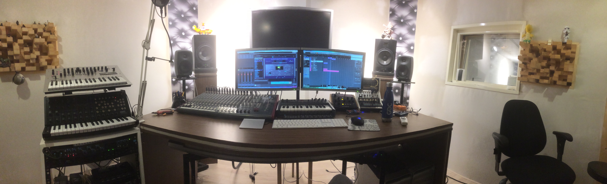 Studio wide view